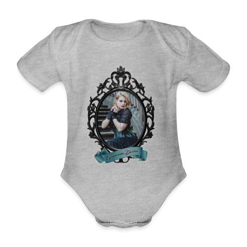 Genoveva Bizzar MOTY 2019 Two Sided Graphics - Organic Short-sleeved Baby Bodysuit