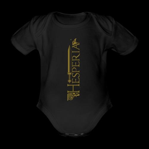 HESPERIA logo 2016 - Organic Short-sleeved Baby Bodysuit