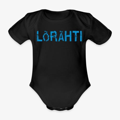 lörähti - Ekologisk kortärmad babybody