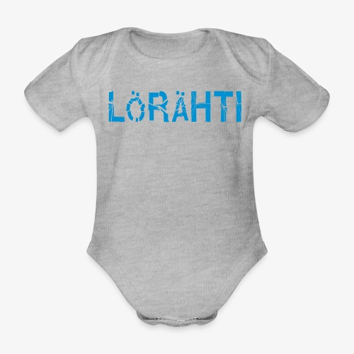 lörähti - Organic Short-sleeved Baby Bodysuit