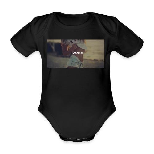 Melaci Baby First - Baby bio-rompertje met korte mouwen