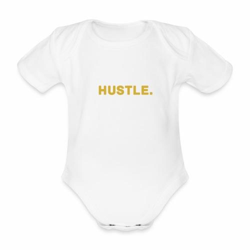 Millionaire.XHustle. GOLD EDITION - Organic Short-sleeved Baby Bodysuit