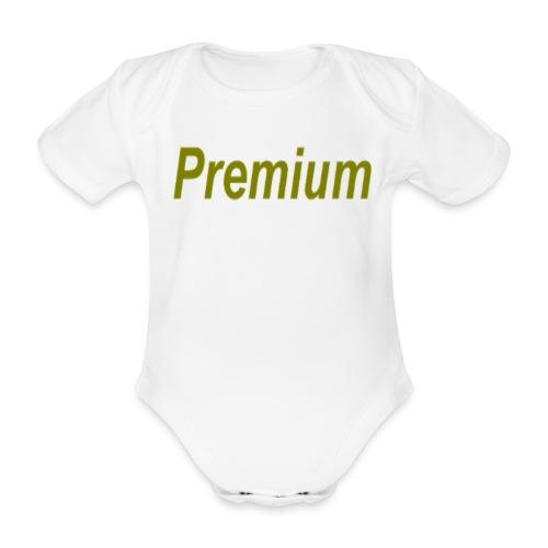 Premium - Organic Short-sleeved Baby Bodysuit