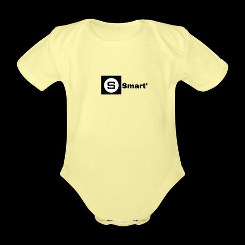 Smart' ORIGINAL - Organic Short-sleeved Baby Bodysuit