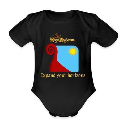 Bear prow - Organic Short-sleeved Baby Bodysuit