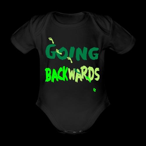 goin'backwards - Baby Bio-Kurzarm-Body