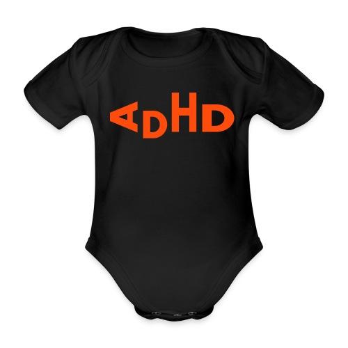 adhd - Baby bio-rompertje met korte mouwen