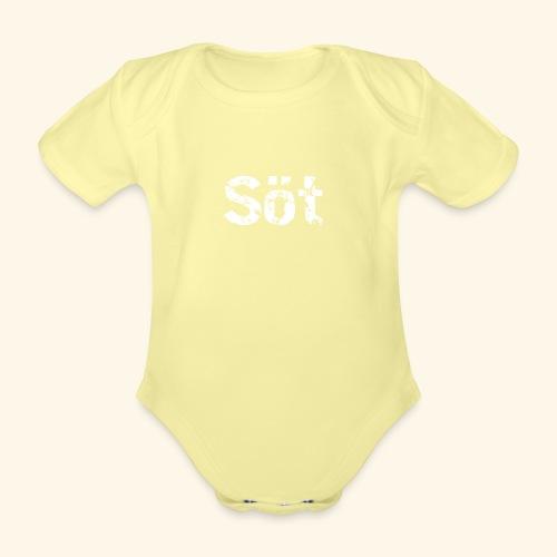 sot - Ekologisk kortärmad babybody