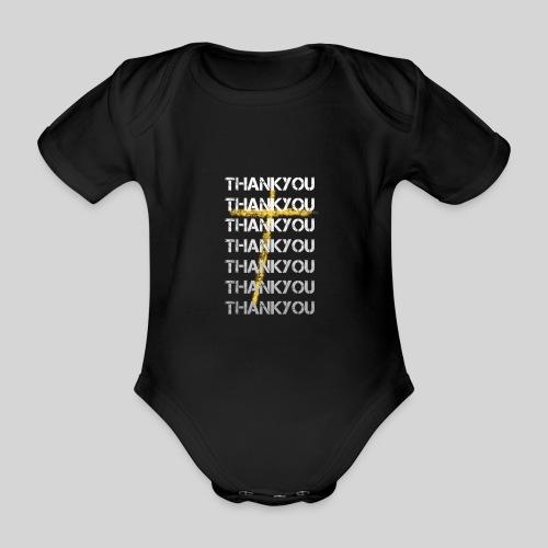 DANKE Jesus, das Geschenk für Christen THANKYOU - Baby Bio-Kurzarm-Body