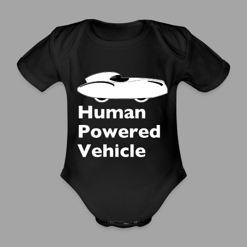 Quattrovelo Human Powered Vehicle white - Vauvan lyhythihainen luomu-body