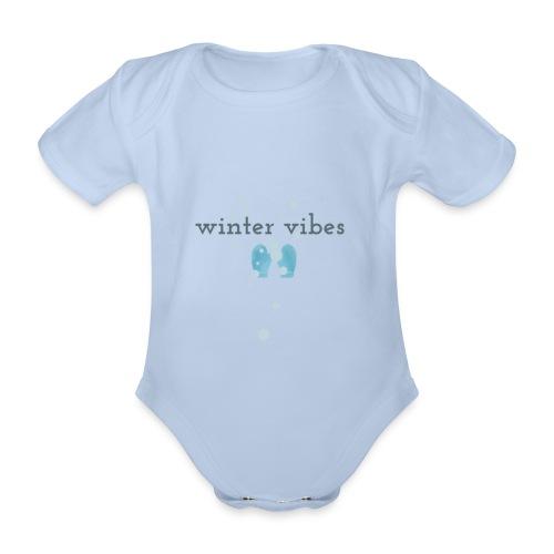 winter vibes - Body Bébé bio manches courtes