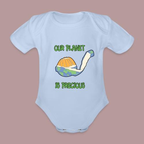 Our planet is precious - Body Bébé bio manches courtes