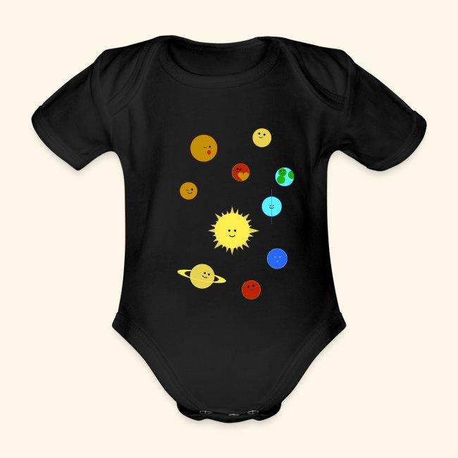 Solsystem svart