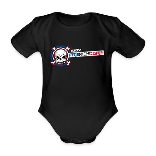 Frenchwear 13 - Baby Bio-Kurzarm-Body