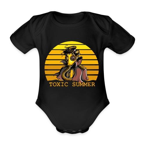 Toxic Summer - Body orgánico de maga corta para bebé