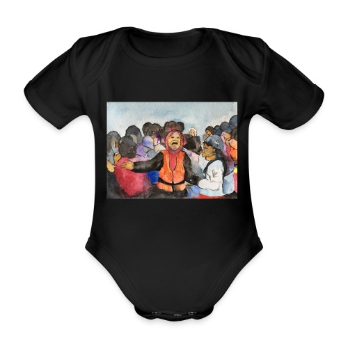 Lezvos22 - Ekologisk kortärmad babybody