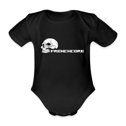 Frenchcore 08 - Baby Bio-Kurzarm-Body