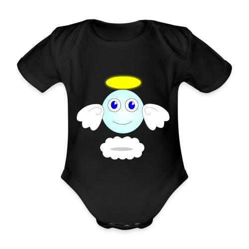 puff logo - Body ecologico per neonato a manica corta