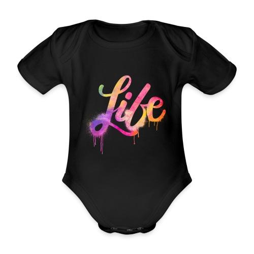 life - Body ecologico per neonato a manica corta