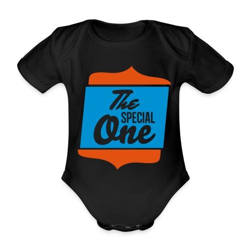 the special one - Ekologiczne body niemowlęce z krótkim rękawem
