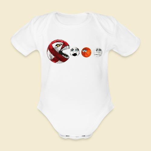 Radball | Cycle Ball RedMan - Baby Bio-Kurzarm-Body