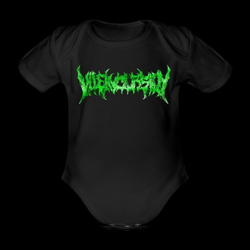 Green logo - Ekologisk kortärmad babybody