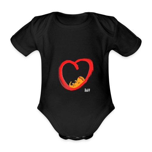 LYD 0003 04 KittyLove - Baby Bio-Kurzarm-Body