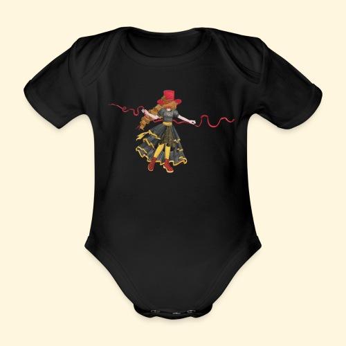 Ladybird - La célèbre uchronaute - Body Bébé bio manches courtes