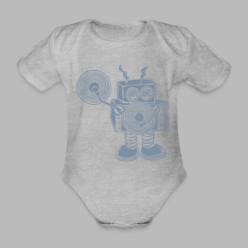Hey Mr DJ ✴CUSTOMISABLE DESIGN✴ - Organic Short-sleeved Baby Bodysuit