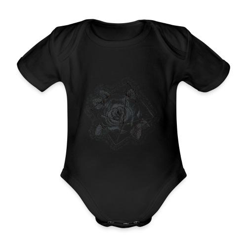 Rosamunda - Ekologisk kortärmad babybody