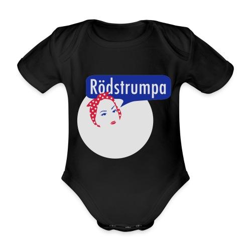 RÖDSTRUMPA 2 - Ekologisk kortärmad babybody
