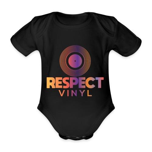 Disco Sisco • Respect Vinyl - Baby Bio-Kurzarm-Body