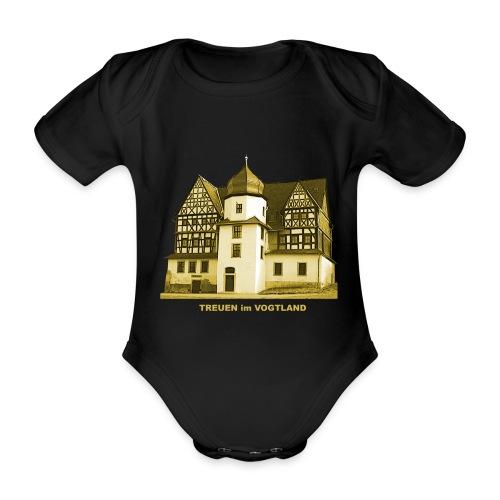 Treuen Schloss Vogtland Sachsen Treba - Baby Bio-Kurzarm-Body