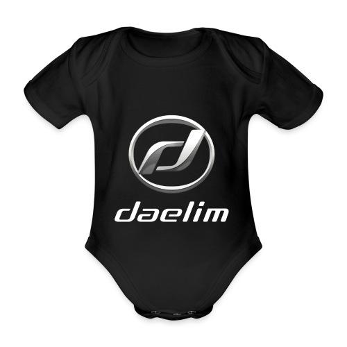 Daelim Logo und Schriftzug T-Shirts - Baby Bio-Kurzarm-Body