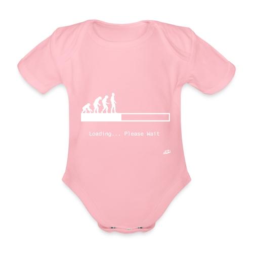 Loading... - Organic Short-sleeved Baby Bodysuit