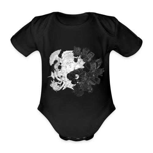 New Yin Old Yang - Organic Short-sleeved Baby Bodysuit