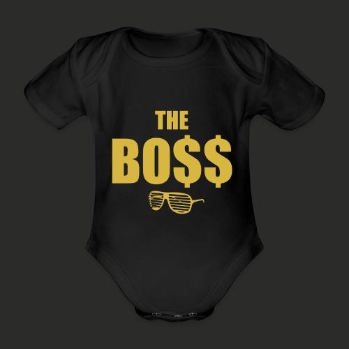 The Bo$$ Mens T-Shirt - Organic Short-sleeved Baby Bodysuit