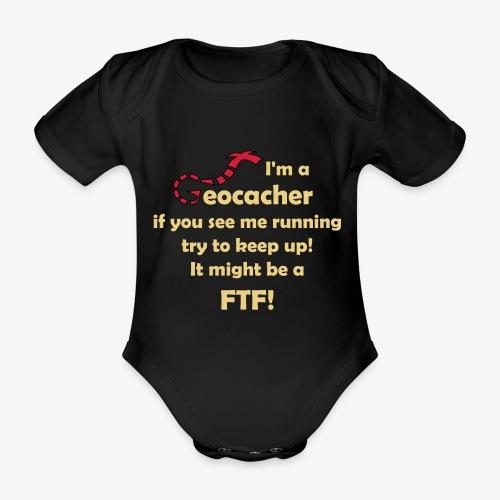 FTF-Jäger - Baby Bio-Kurzarm-Body