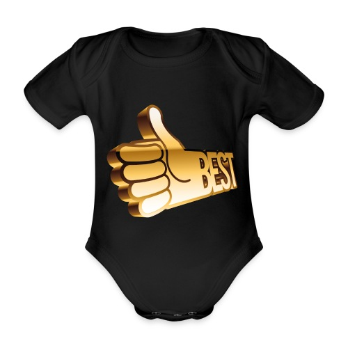 Best - Ekologisk kortärmad babybody