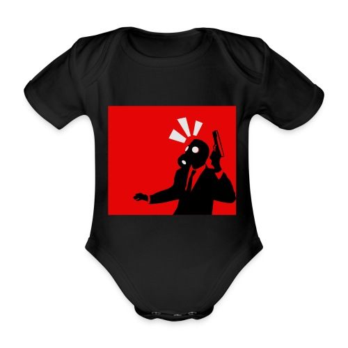Gasmask - Organic Short-sleeved Baby Bodysuit