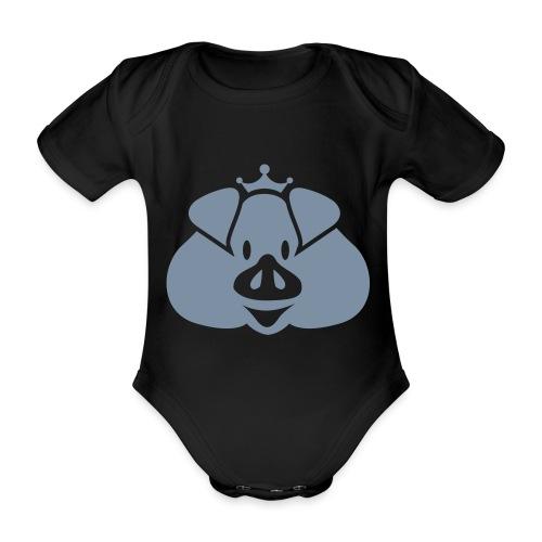 Habsburger Schwein - Organic Short-sleeved Baby Bodysuit