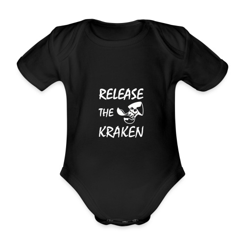 Release The Kraken - Organic Short-sleeved Baby Bodysuit