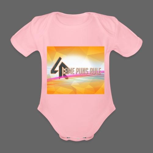 lpr mousepad png - Organic Short-sleeved Baby Bodysuit