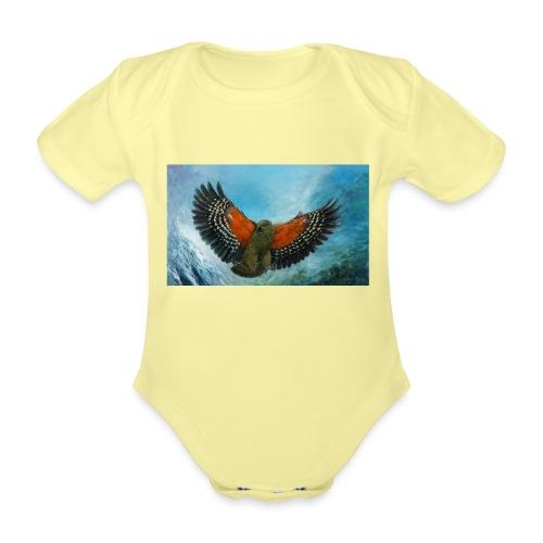 123supersurge - Organic Short-sleeved Baby Bodysuit