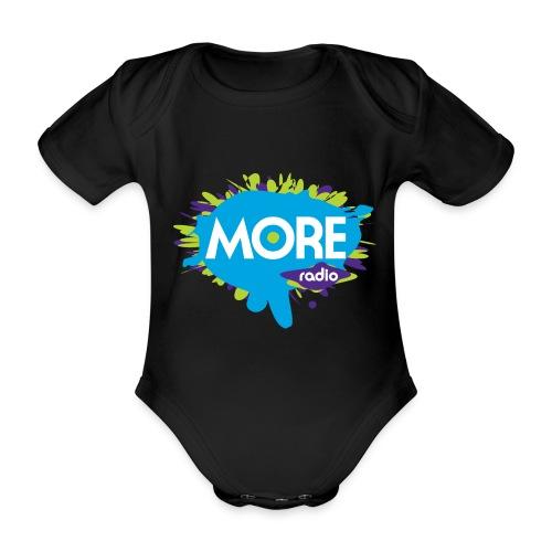 More Radio 2017 - Baby bio-rompertje met korte mouwen