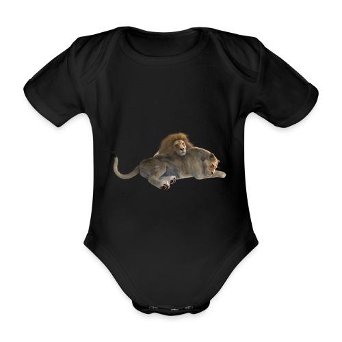 LÖWE - Baby Bio-Kurzarm-Body