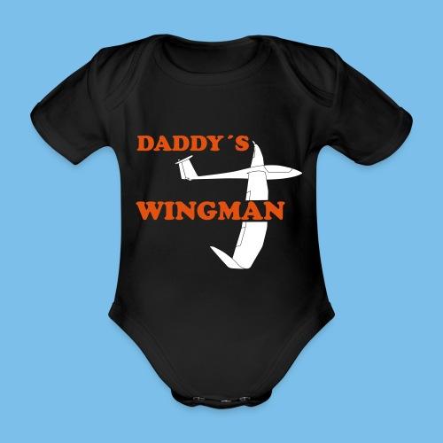 Segelflieger Nachwuchs Baby Segelflugzeug Geschenk - Baby Bio-Kurzarm-Body
