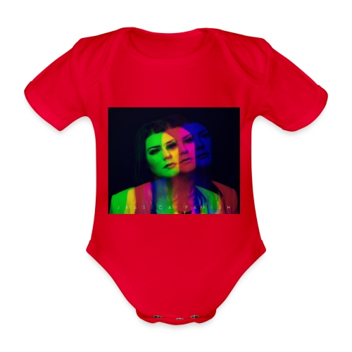 Triple Color Exposure Jessica Parish - Baby Bio-Kurzarm-Body