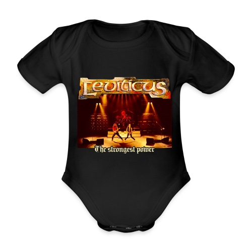 Leviticus - The Strongest Power - Band - Organic Short-sleeved Baby Bodysuit