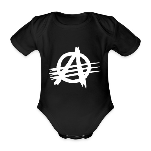 AGaiNST ALL AuTHoRiTieS - Organic Short-sleeved Baby Bodysuit